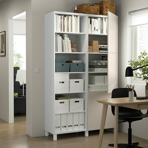BESTÅ - 貯物組合連門, white/Lappviken/Stubbarp light grey-beige   IKEA 香港及澳門 - PE824039_S4