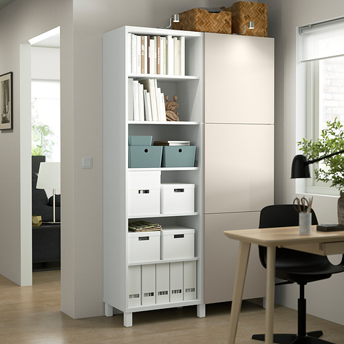 BESTÅ - 貯物組合連門, white/Lappviken/Stubbarp light grey-beige   IKEA 香港及澳門 - PE824040_S4
