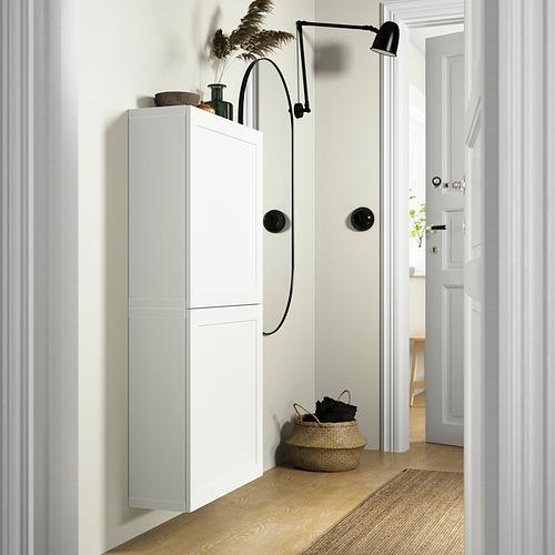 BESTÅ - 雙門吊櫃, 白色/Hanviken 白色 | IKEA 香港及澳門 - PE824087_S4