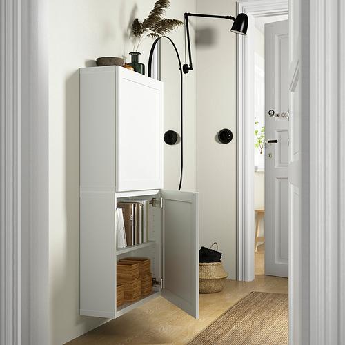 BESTÅ - 雙門吊櫃, 白色/Hanviken 白色 | IKEA 香港及澳門 - PE824088_S4