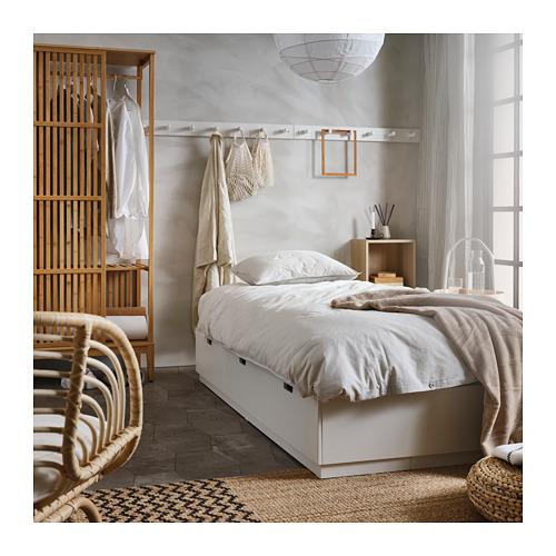 NORDLI - 標準雙人床架連抽屜, 白色   IKEA 香港及澳門 - PH165856_S4