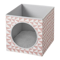 LURVIG - 貓屋套裝, 粉紅色/淺灰色 | IKEA 香港及澳門 - PE767781_S3