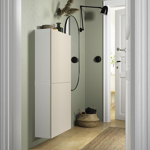 BESTÅ - 雙門吊櫃, white/Lappviken light grey-beige | IKEA 香港及澳門 - PE824115_S4