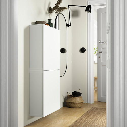 BESTÅ - 雙門吊櫃, 白色/Lappviken 白色   IKEA 香港及澳門 - PE824119_S4
