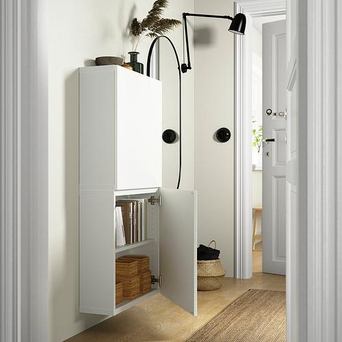 BESTÅ - 雙門吊櫃, 白色/Laxviken 白色   IKEA 香港及澳門 - PE824094_S4