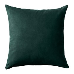 SANELA - cushion cover, dark green | IKEA Hong Kong and Macau - PE678603_S3
