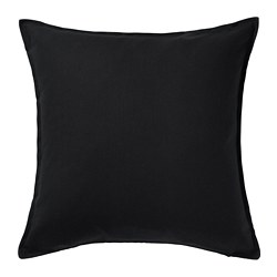 GURLI - cushion cover, black | IKEA Hong Kong and Macau - PE678606_S3