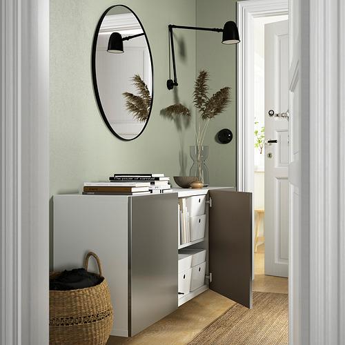 BESTÅ - 上牆式貯物組合, white/Riksviken light bronze effect   IKEA 香港及澳門 - PE824208_S4
