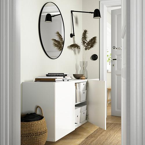 BESTÅ - 上牆式貯物組合, white/Selsviken high-gloss/white | IKEA 香港及澳門 - PE824217_S4