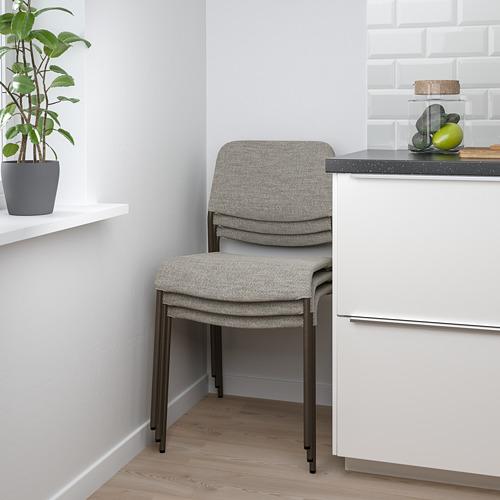 UDMUND/EKEDALEN - 一檯兩椅, 深褐色 褐色/Viarp 米黃色/褐色   IKEA 香港及澳門 - PE824222_S4