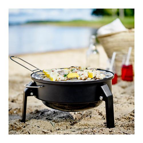 KORPÖN - 便攜式木炭燒烤爐, 黑色 | IKEA 香港及澳門 - PE566013_S4