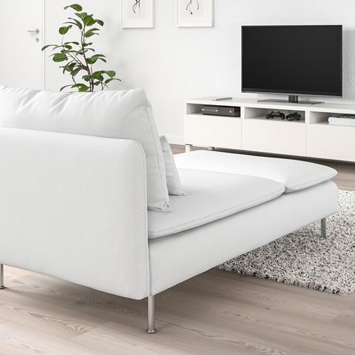 SÖDERHAMN - chaise longue, Finnsta white | IKEA Hong Kong and Macau - PE767981_S4