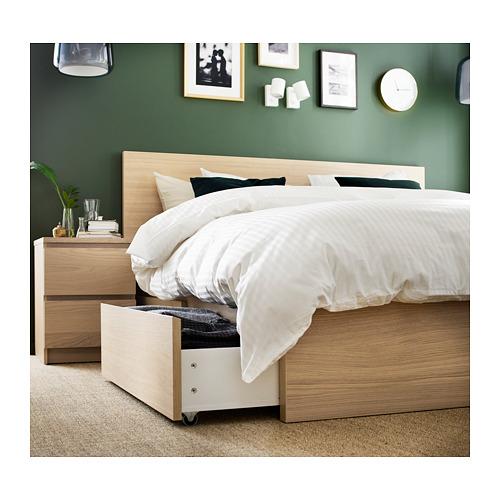 MALM - 特大雙人高身床架連2個貯物箱, Luröy | IKEA 香港及澳門 - PH162809_S4