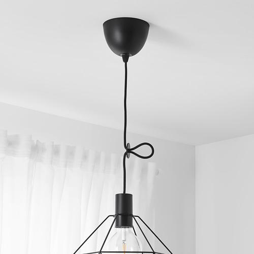 SUNNEBY - 電線套裝, 黑色 布料 | IKEA 香港及澳門 - PE768066_S4