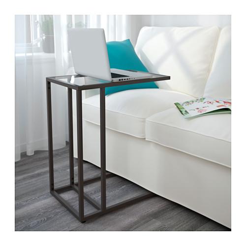 VITTSJÖ - 電腦檯, 棕黑色/玻璃 | IKEA 香港及澳門 - PE564652_S4