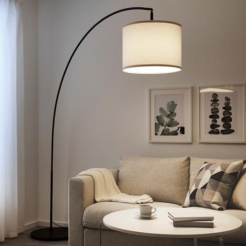 SKAFTET - 落地燈座 拱形, 黑色   IKEA 香港及澳門 - PE768082_S4