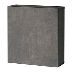 BESTÅ - shelf unit with door, black-brown/Kallviken dark grey | IKEA Hong Kong and Macau - PE824362_S3