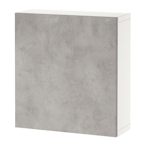 BESTÅ - 上牆式貯物組合, white/Kallviken light grey | IKEA 香港及澳門 - PE824371_S4