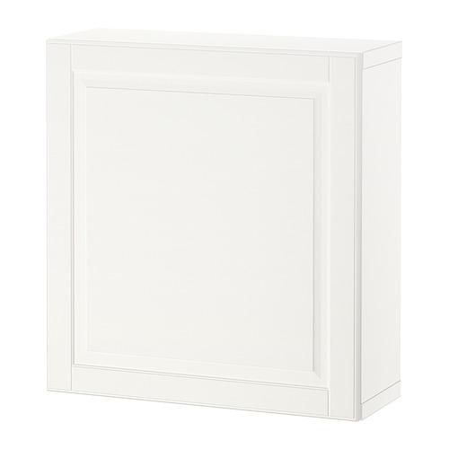 BESTÅ - 層架組合連門, 白色/Smeviken 白色   IKEA 香港及澳門 - PE824366_S4