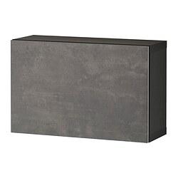 BESTÅ - shelf unit with door, black-brown/Kallviken dark grey | IKEA Hong Kong and Macau - PE824373_S3