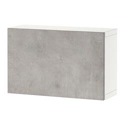 BESTÅ - shelf unit with door, white/Kallviken light grey | IKEA Hong Kong and Macau - PE824382_S3