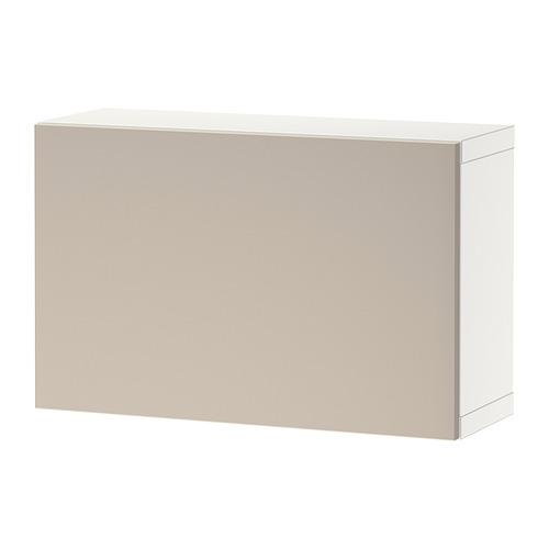 BESTÅ - 上牆式貯物組合, white/Lappviken light grey/beige | IKEA 香港及澳門 - PE824378_S4
