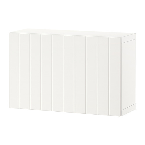 BESTÅ - shelf unit with door, white/Sutterviken white | IKEA Hong Kong and Macau - PE824379_S4