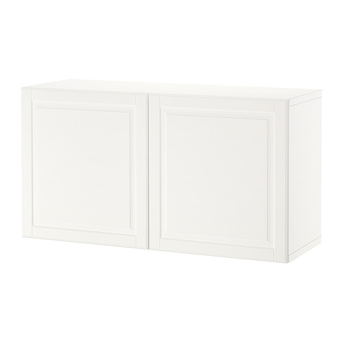 BESTÅ - shelf unit with doors, white/Smeviken white | IKEA Hong Kong and Macau - PE824454_S4