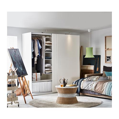 PAX - 衣櫃, 白色/Hasvik 白色 | IKEA 香港及澳門 - PH136136_S4