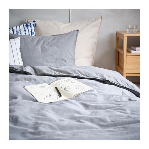 ÄNGSLILJA - 被套枕袋套裝, 灰色, 150x200/50x80 cm    IKEA 香港及澳門 - PH165844_S4