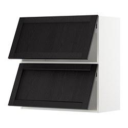 METOD - 雙門橫吊櫃, white/Lerhyttan black stained | IKEA 香港及澳門 - PE679626_S3