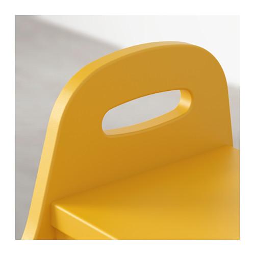 TROGEN - children's step stool, yellow   IKEA Hong Kong and Macau - PE631775_S4