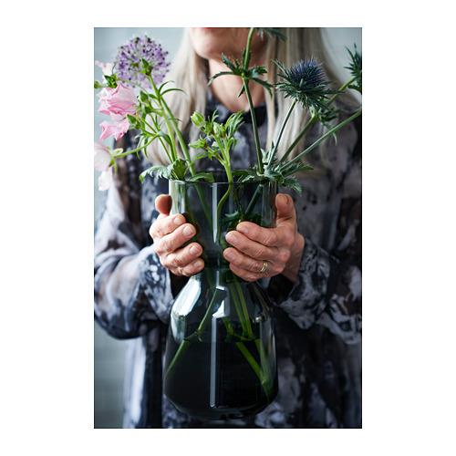 OMTÄNKSAM - 花瓶, 淺灰色   IKEA 香港及澳門 - PH152565_S4