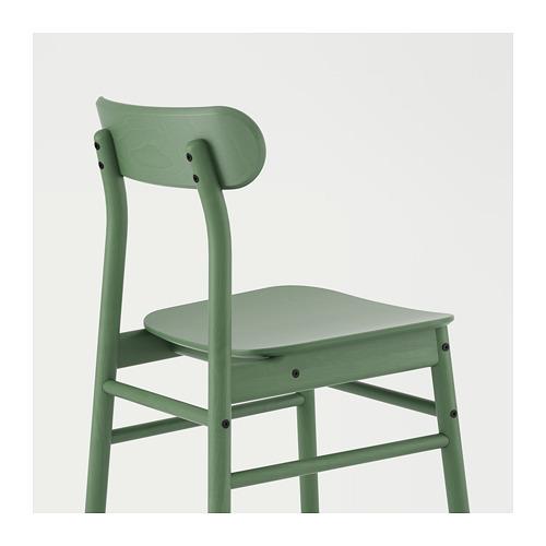 RÖNNINGE/STENSELE - table and 2 chairs, light grey/light grey green | IKEA Hong Kong and Macau - PE724134_S4