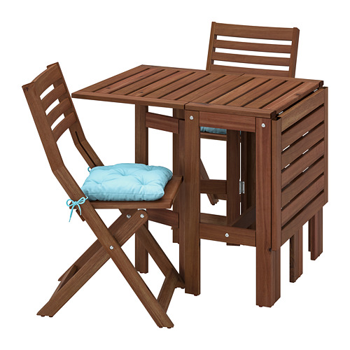 ÄPPLARÖ 戶外檯連摺椅組合
