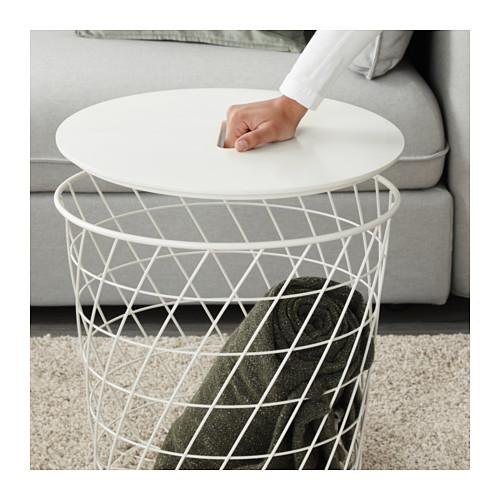 KVISTBRO - storage table, white | IKEA Hong Kong and Macau - PE631904_S4
