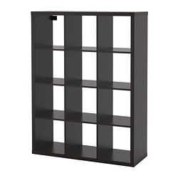KALLAX - shelving unit, black-brown | IKEA Hong Kong and Macau - PE681620_S3
