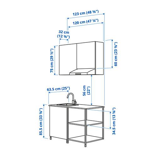 ENHET - 廚房, 白色   IKEA 香港及澳門 - PE824471_S4