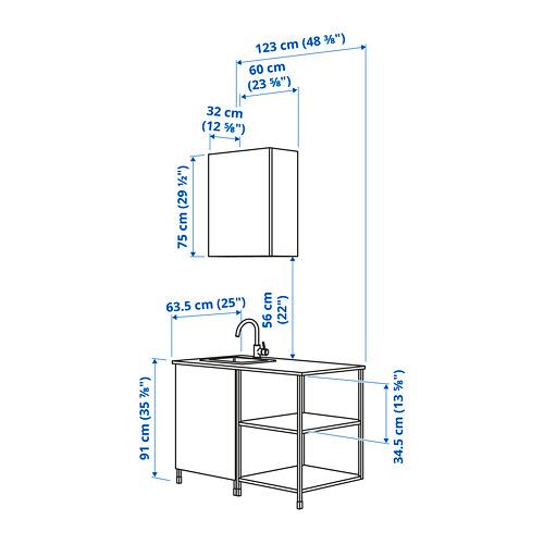 ENHET - 廚房, 白色 | IKEA 香港及澳門 - PE824473_S4