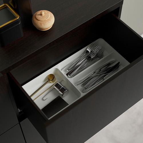 BESTÅ - storage combination w doors/drawers, black-brown Selsviken/Stubbarp/high-gloss dark olive-green | IKEA Hong Kong and Macau - PE824477_S4
