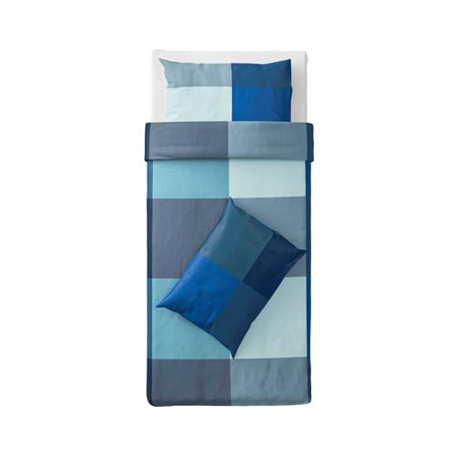 BRUNKRISSLA 被套枕袋套裝, 150x200/50x80 cm