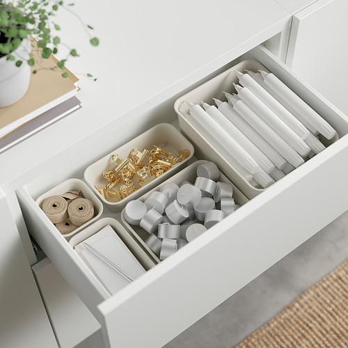 BESTÅ - 貯物組合連抽屜, white Lappviken/Stubbarp/light grey/beige | IKEA 香港及澳門 - PE824552_S4