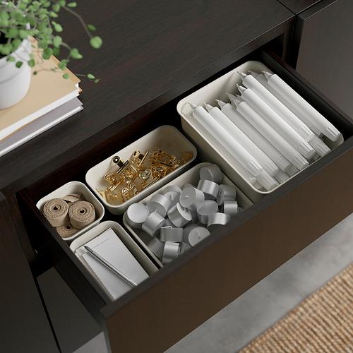 BESTÅ - 貯物組合連抽屜, black-brown/Lappviken/Stubbarp light grey-beige | IKEA 香港及澳門 - PE824553_S4