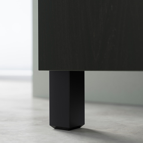 BESTÅ - 電視几連門, black-brown/Hedeviken/Stubbarp oak veneer | IKEA 香港及澳門 - PE824566_S4