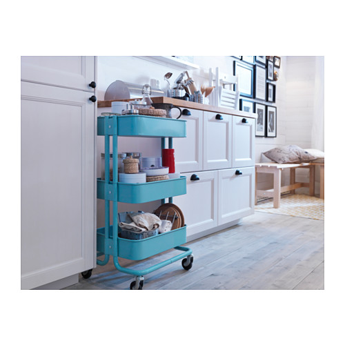 RÅSKOG - trolley, turquoise | IKEA Hong Kong and Macau - PE353207_S4