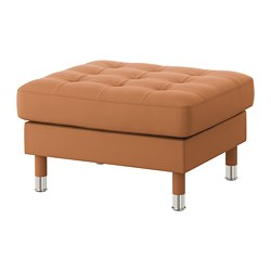 LANDSKRONA - footstool, Grann/Bomstad golden-brown/metal | IKEA Hong Kong and Macau - PE680092_S3