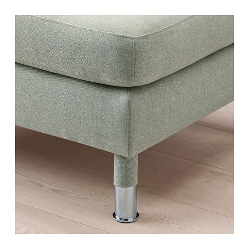 LANDSKRONA - footstool, Gunnared light green/metal   IKEA Hong Kong and Macau - PE680136_S4