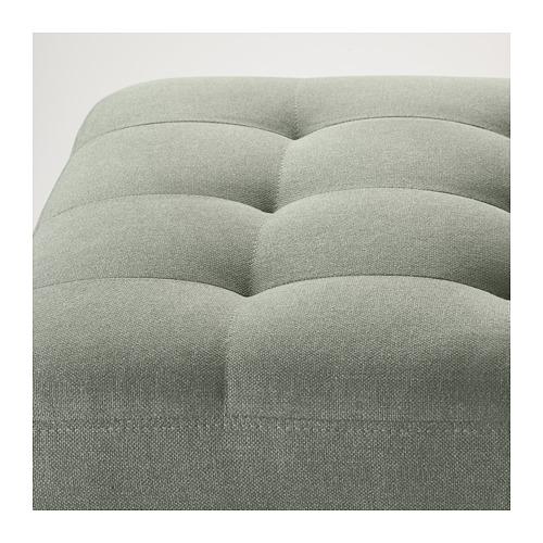 LANDSKRONA - footstool, Gunnared light green/metal   IKEA Hong Kong and Macau - PE680135_S4