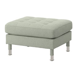 LANDSKRONA - footstool, Gunnared light green/metal | IKEA Hong Kong and Macau - PE680134_S3