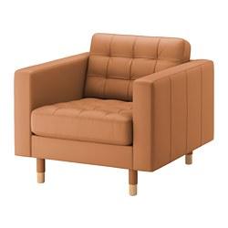 LANDSKRONA - armchair, Grann/Bomstad golden-brown/wood | IKEA Hong Kong and Macau - PE680151_S3